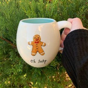Rae Dunn oh snap Christmas mug